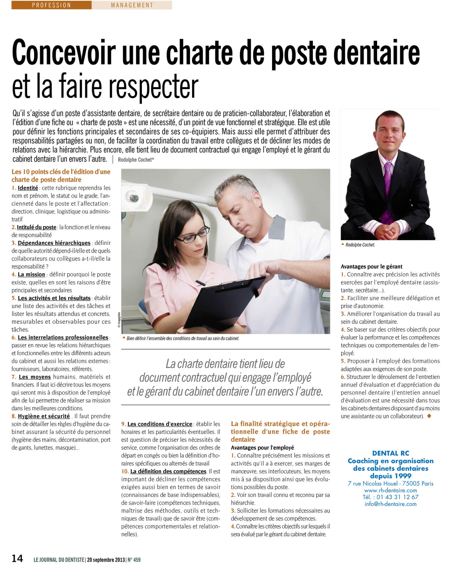 charte-poste-cabinet-dentaire-journal-dentiste-belgique-Rodolphe-Cochet.jpg