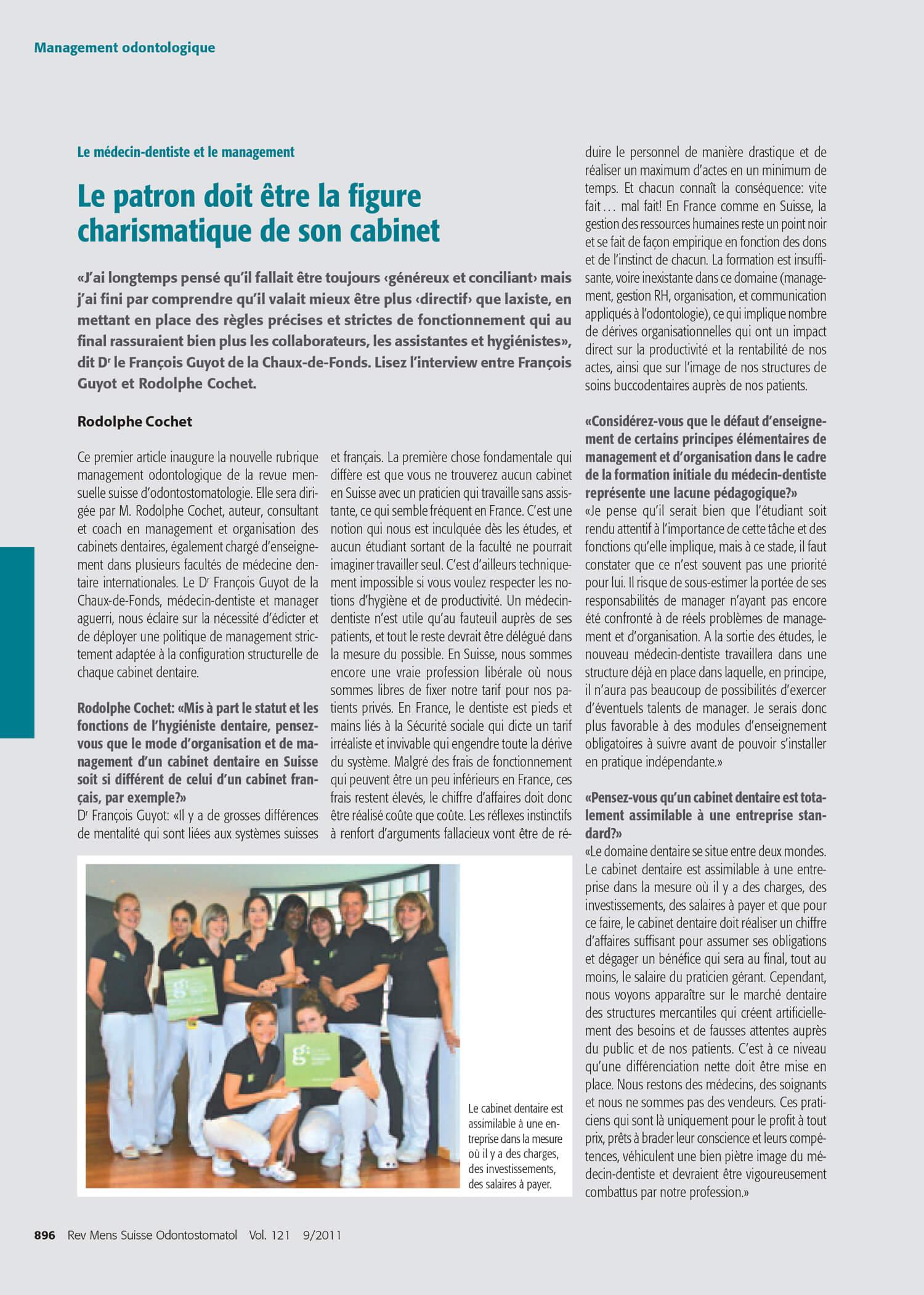 Revue-Mensuelle-Suisse-dentaire-rodolphe-cochet-management-conference-sso.jpg